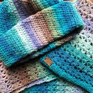 Tight Cap or Slouchy Hat and Scarf